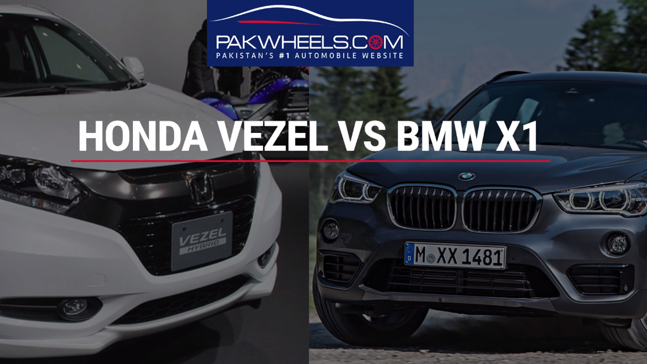 Honda Vezel Vs Bmw X1 Price Specs And Features Pakwheels Comparison